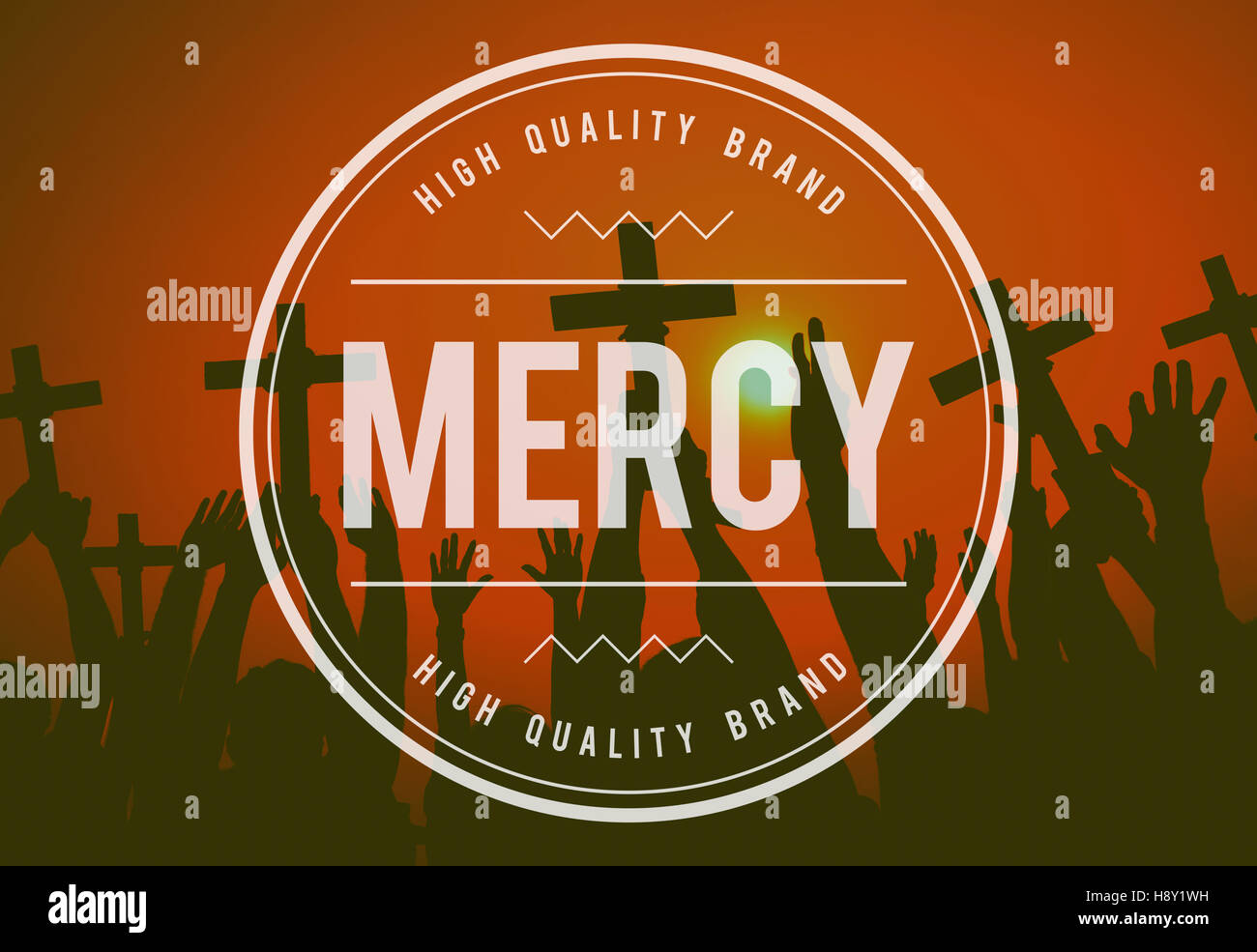 Mercy Forgiveness Religion Hope Christianity Concept - Stock Image