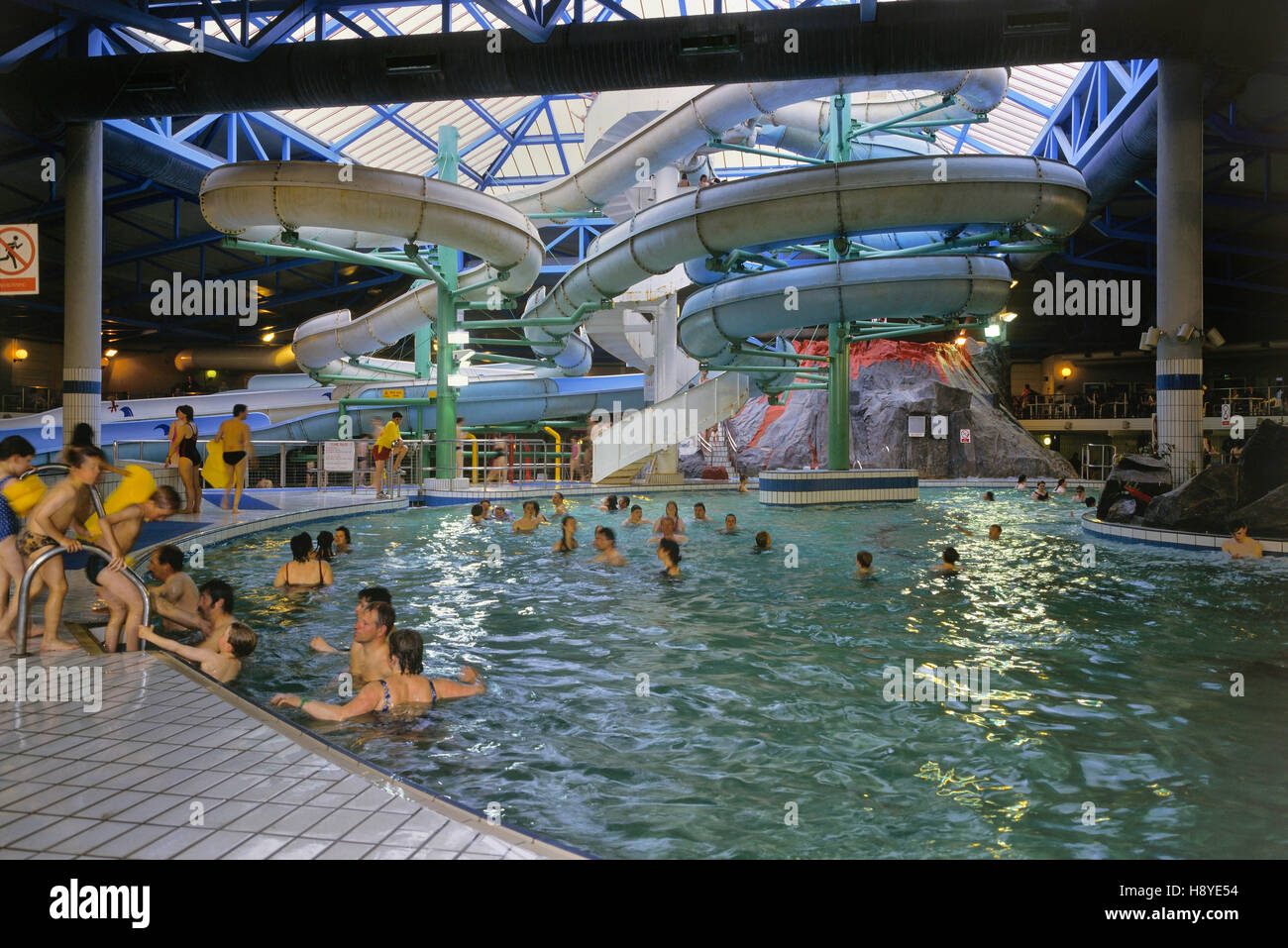 Indoor Fun Pool At Butlins Funcoast World Skegness Lincolnshire Stock Photo 125993648 Alamy