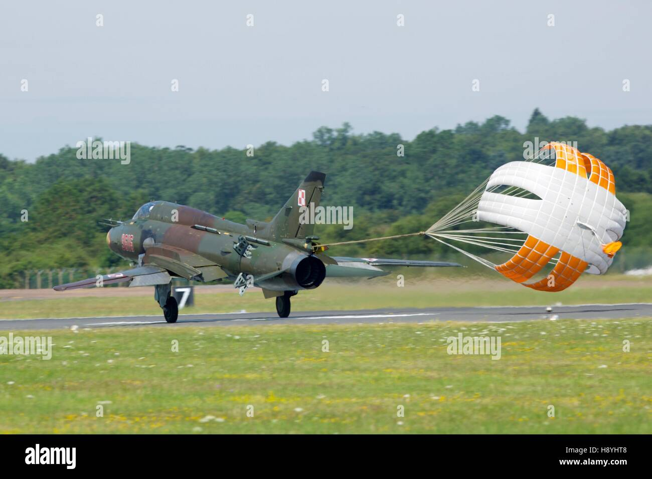Polish Air Force Sukhoi SU-22 - Stock Image