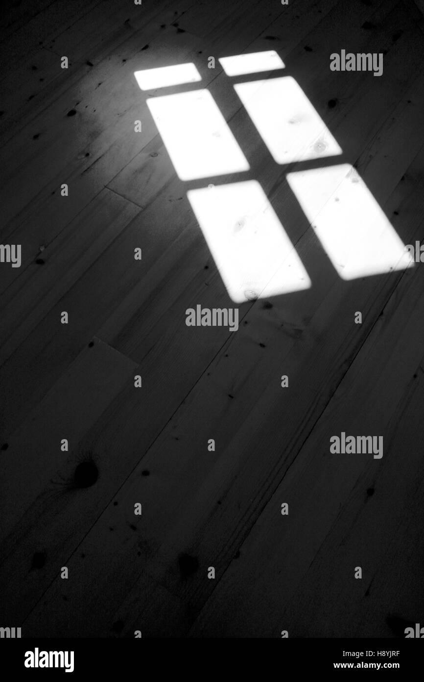 Window shadow - Stock Image