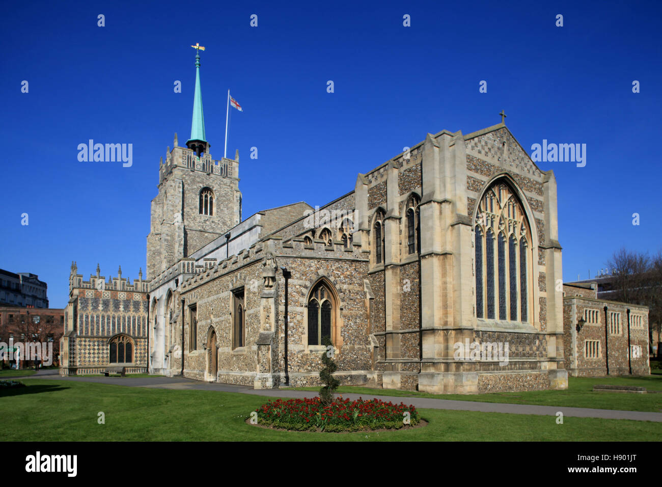 Chelmsford Cathedral, Chelmsford, Essex, England - Stock Image