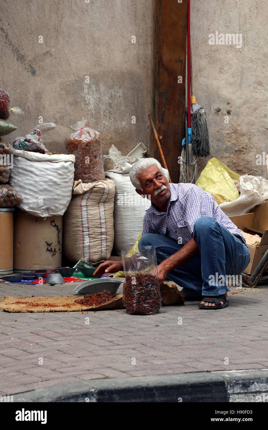 Old Dubai - Deira, United Arab Emirates Stock Photo