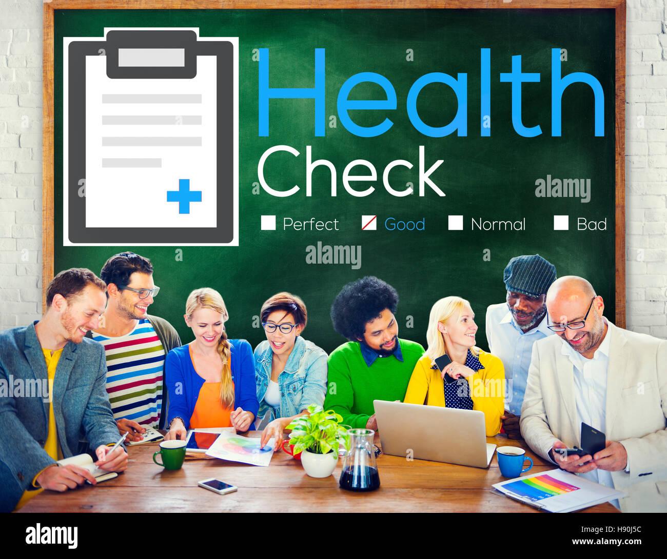 Health Check Diagnosis Medical Condition Analysis Concept Stock Photo