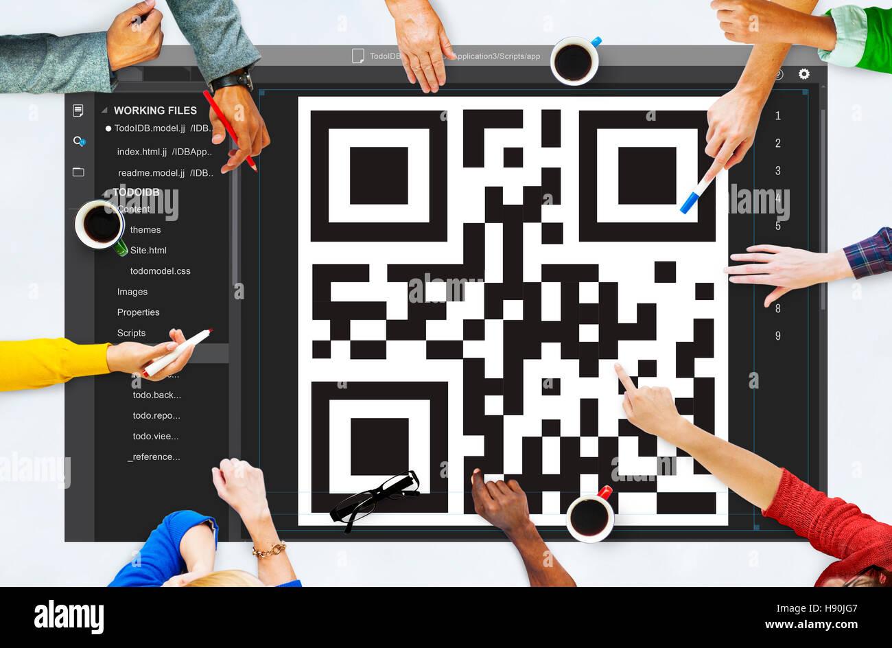 encrypted qr codes