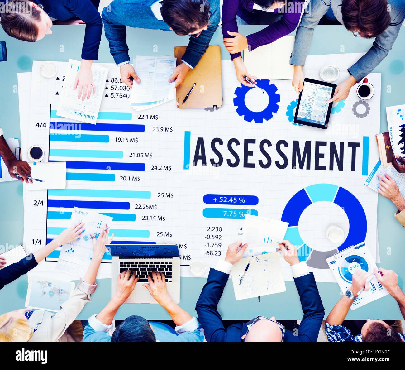 Assessment Evaluation Measure Validation Review Concept - Stock Image