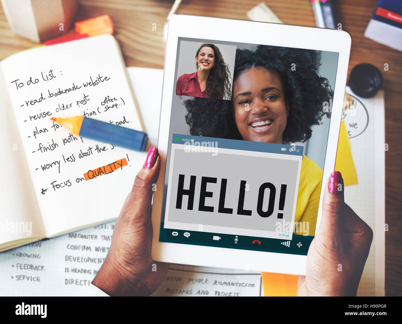 Hi hello language message greeting stock photos hi hello language hi hello language message greeting concept stock image m4hsunfo