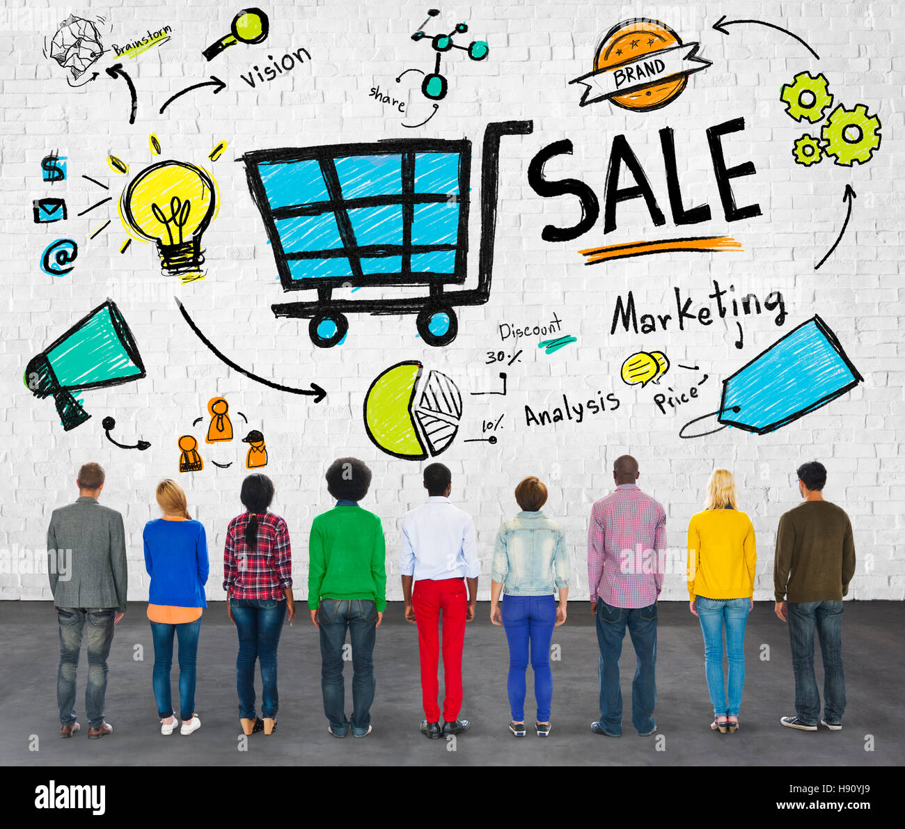 Sale Sales Selling Finance Revenue Money Income Payment Concept - Stock Image