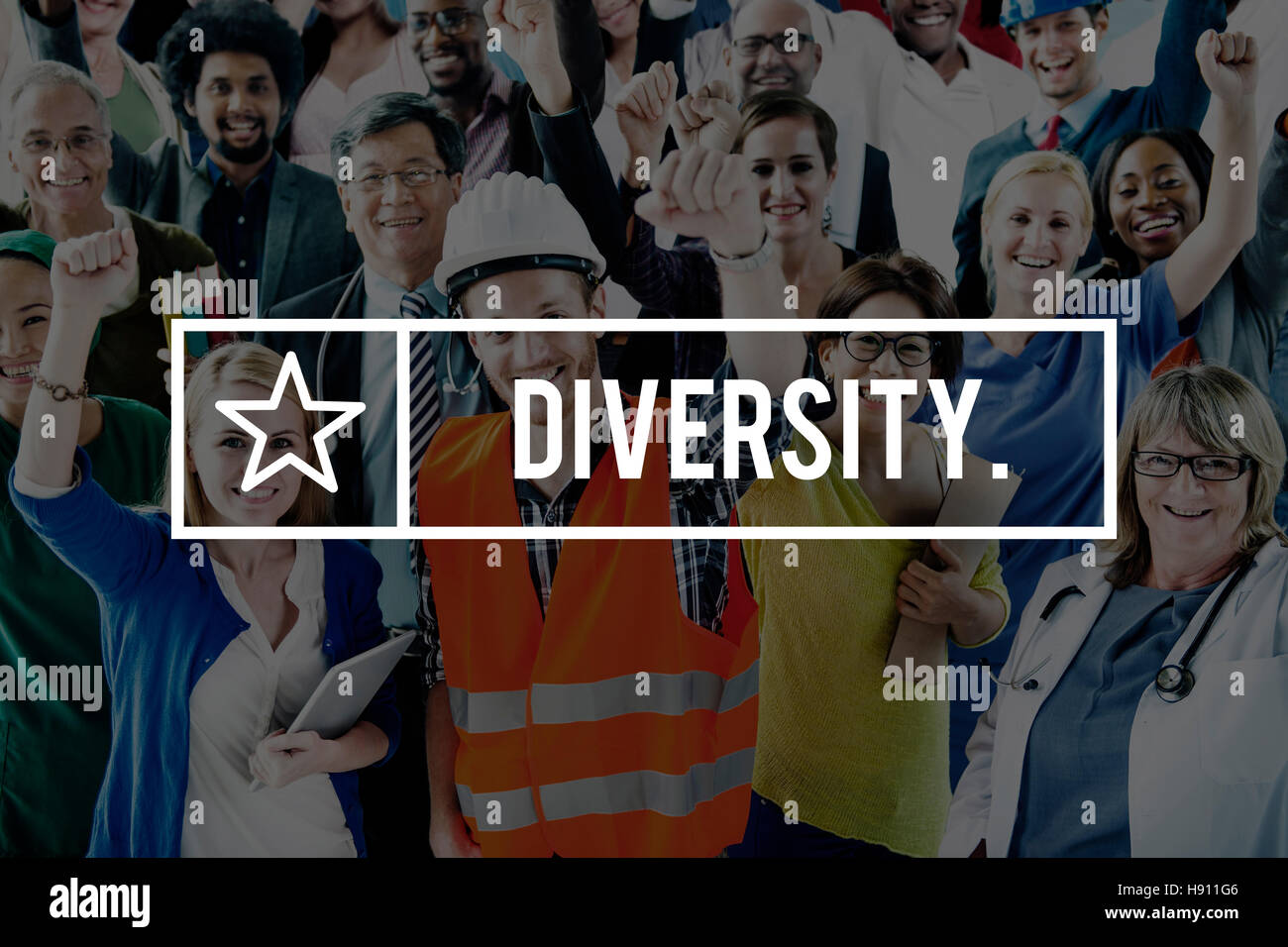 Diversity Society Variation Race Community Concept - Stock Image