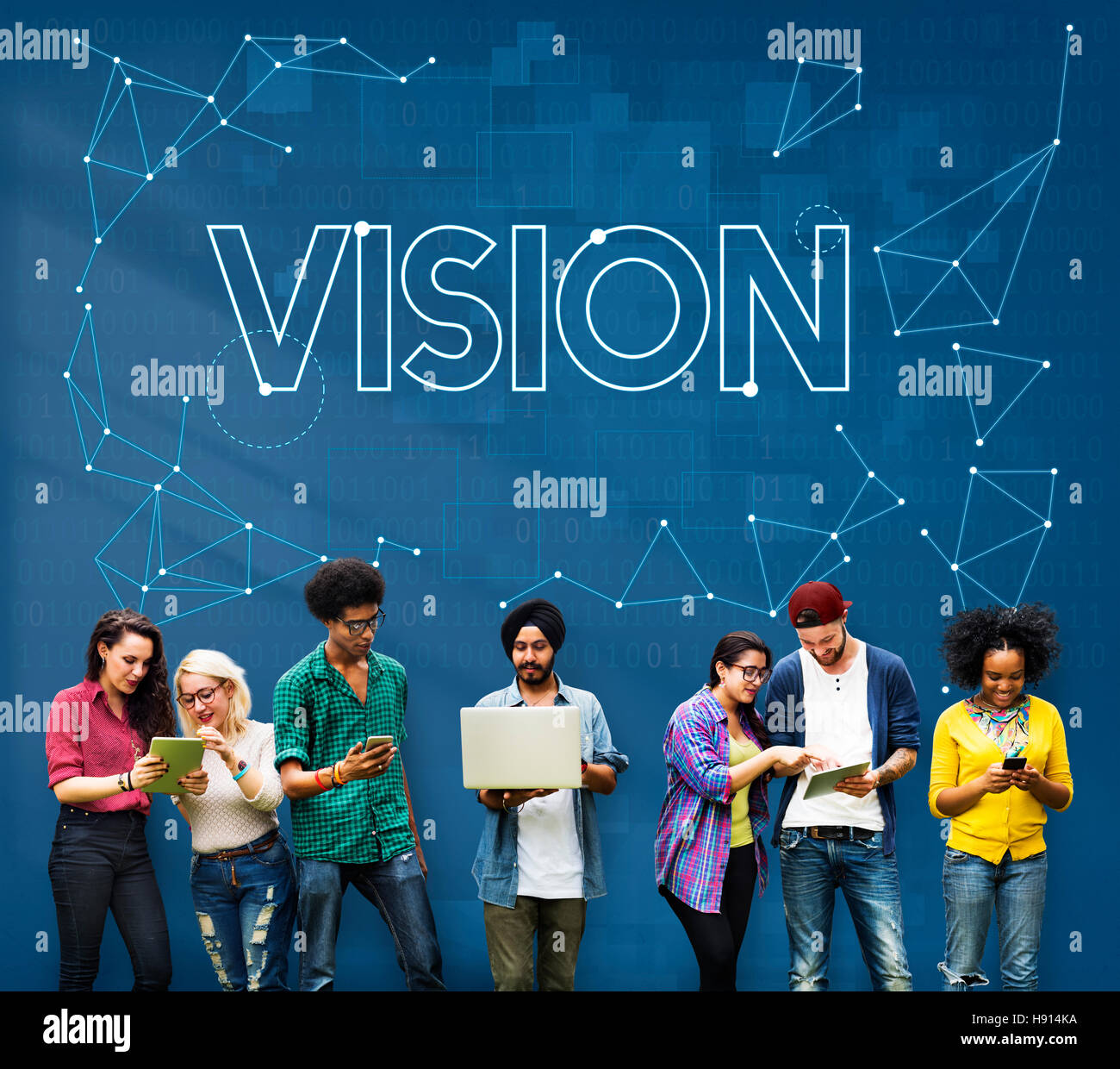 Vision Visibility Observable Noticeably Graphic Concept Stock Photo