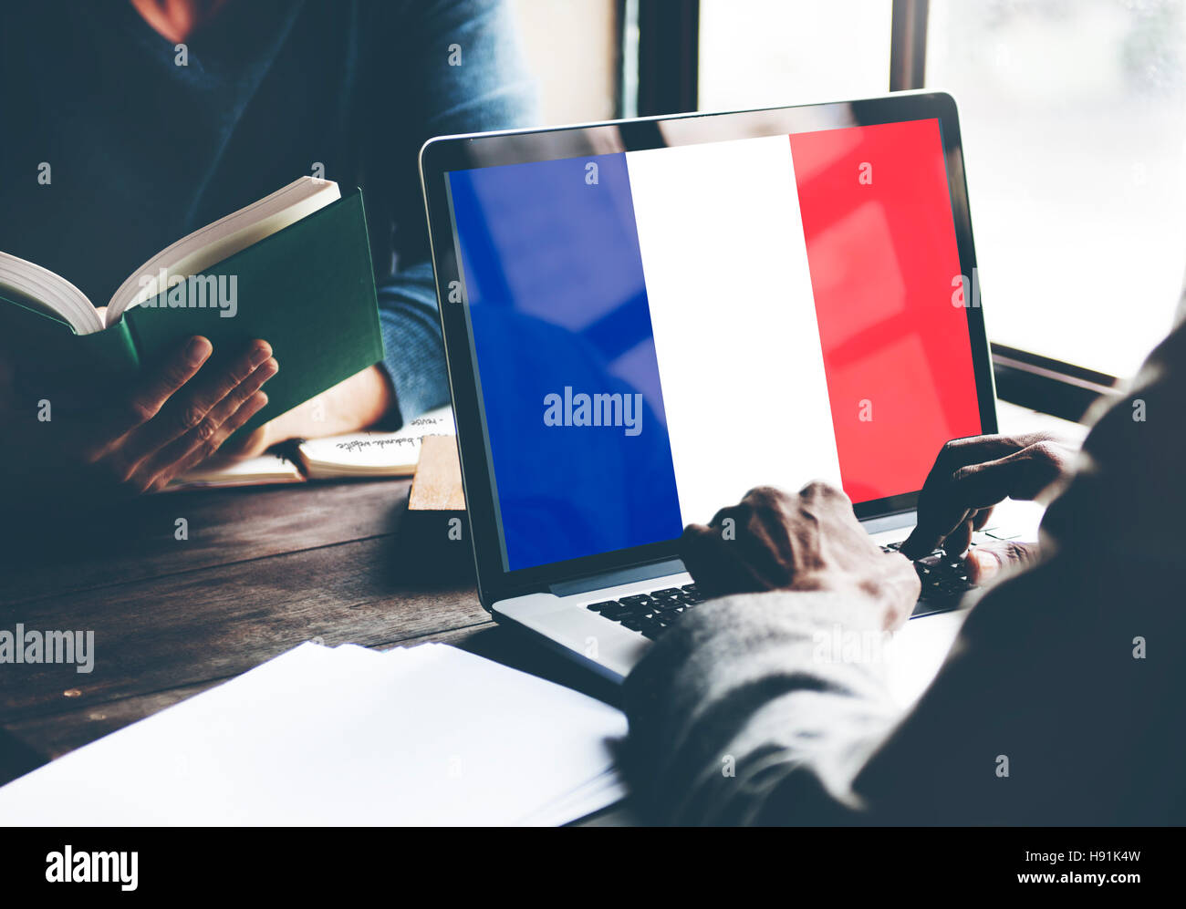 France Country Flag Nationality Culture Liberty Concept - Stock Image