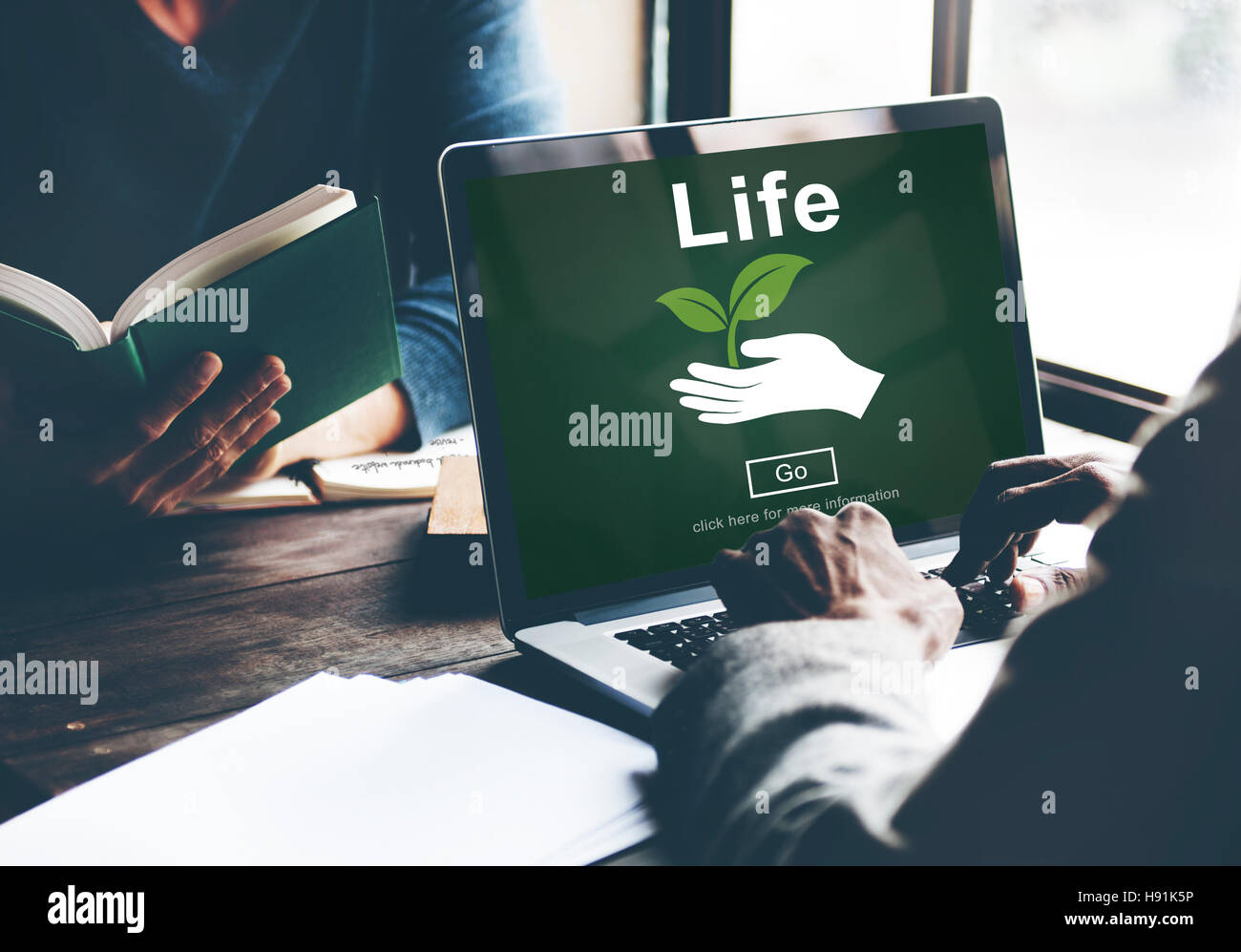 Life Ecosystem Conserve Environment Concept - Stock Image