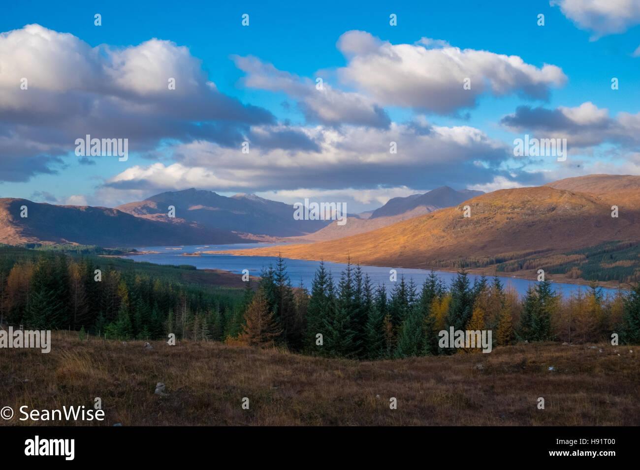 Western Scottish Highlands - Stock Image