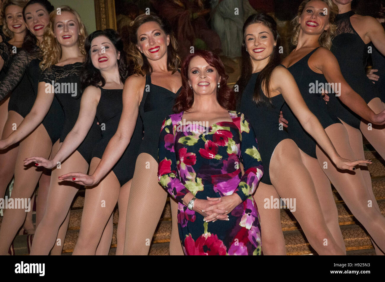 London, UK, 18/11/2016 Sheena Easton makes her West End debut with Tom Lister in 42nd Street at the Theatre Royal - Stock Image