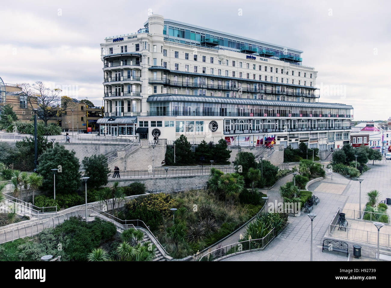 Grosvenor Casino & Park Inn Palace by Radisson, Hotel with accommodation and scenic views. Southend-on-sea, Essex,England Stock Photo