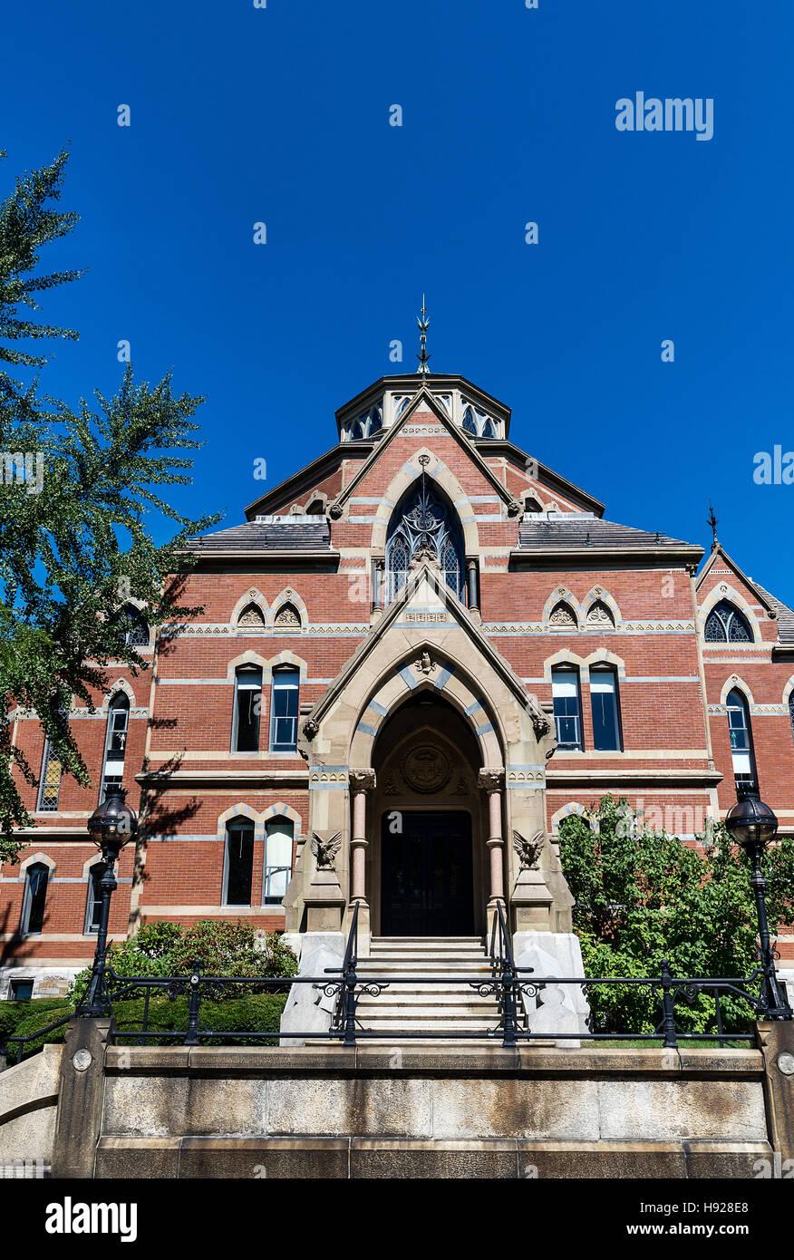 Robinson Hall Economics building on Brown University campus. - Stock Image