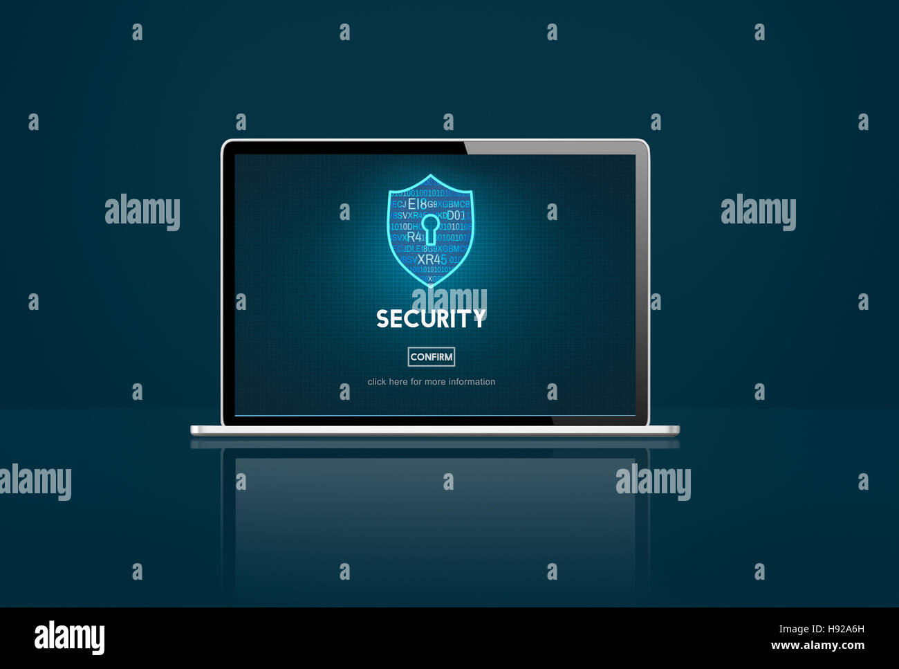 Security Firewall Protection Immunity Concept - Stock Image