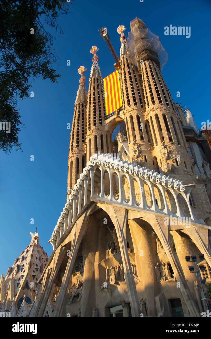 La Sagrada Familia - Stock Image