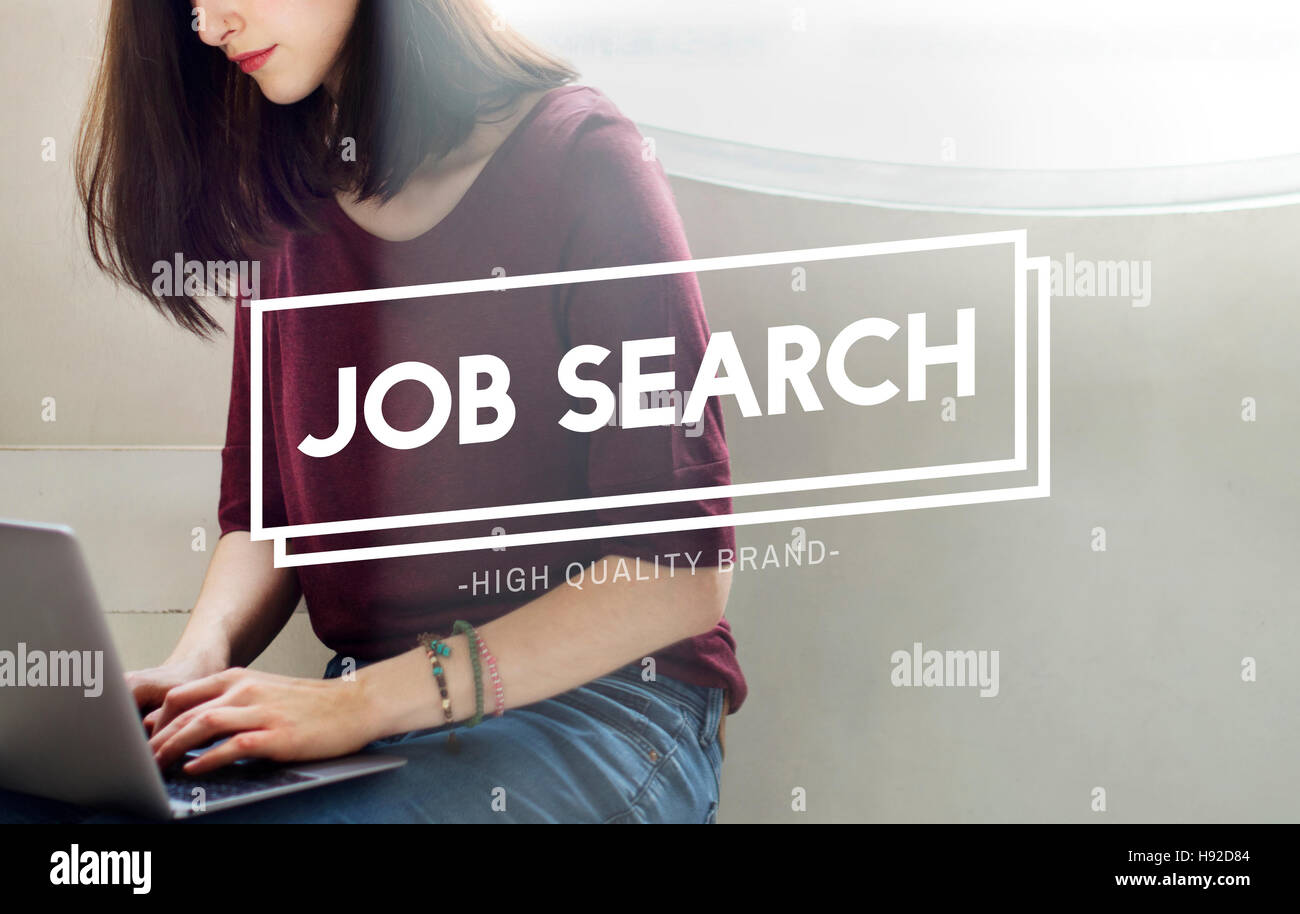 job search employement headhunting career concept