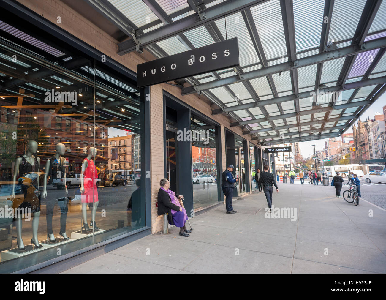27cf1b10d11 A Hugo Boss store in the Meatpacking District in New York on Wednesday,  November 16
