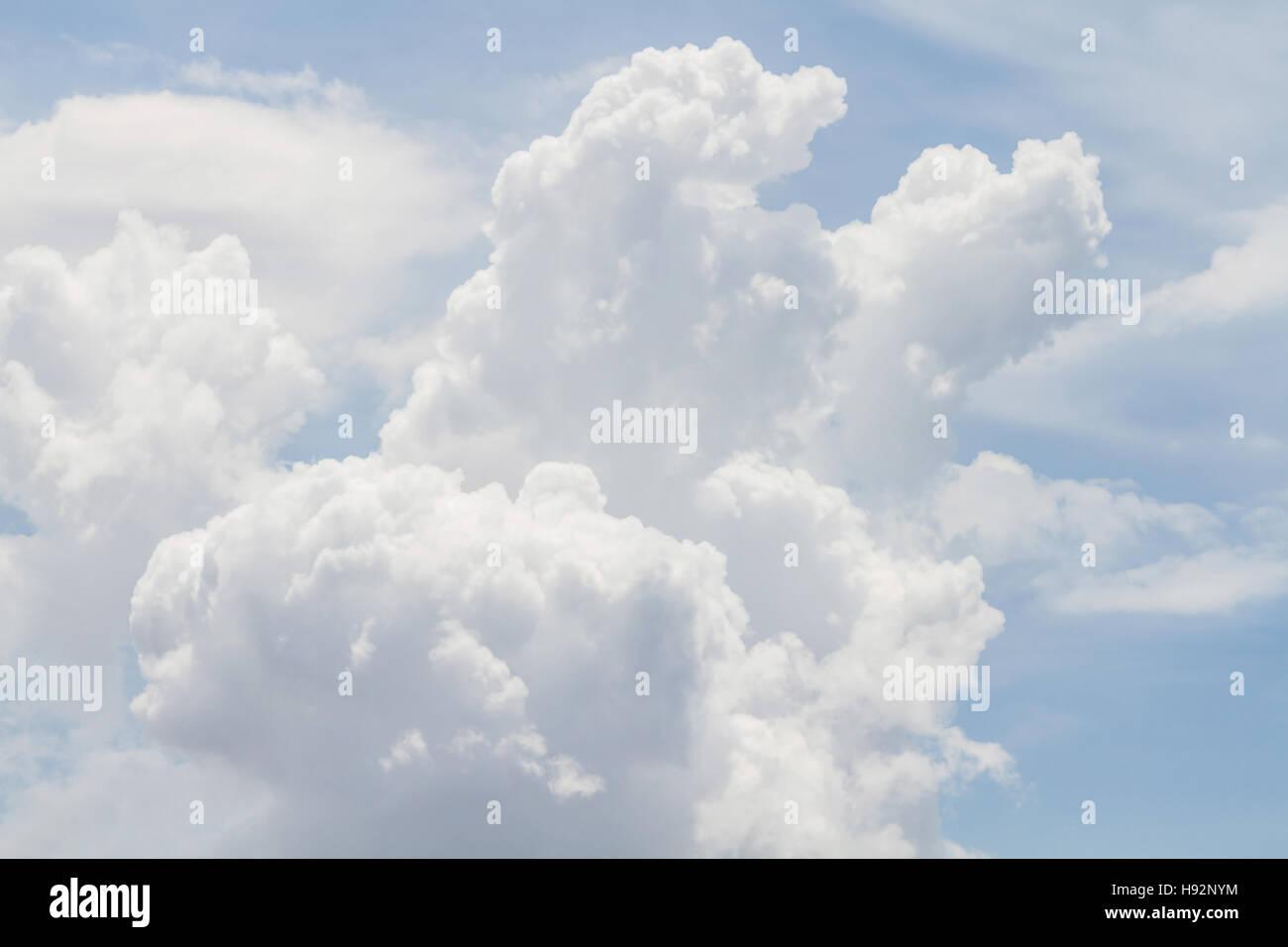 Clouds Form Phenomena. - Stock Image