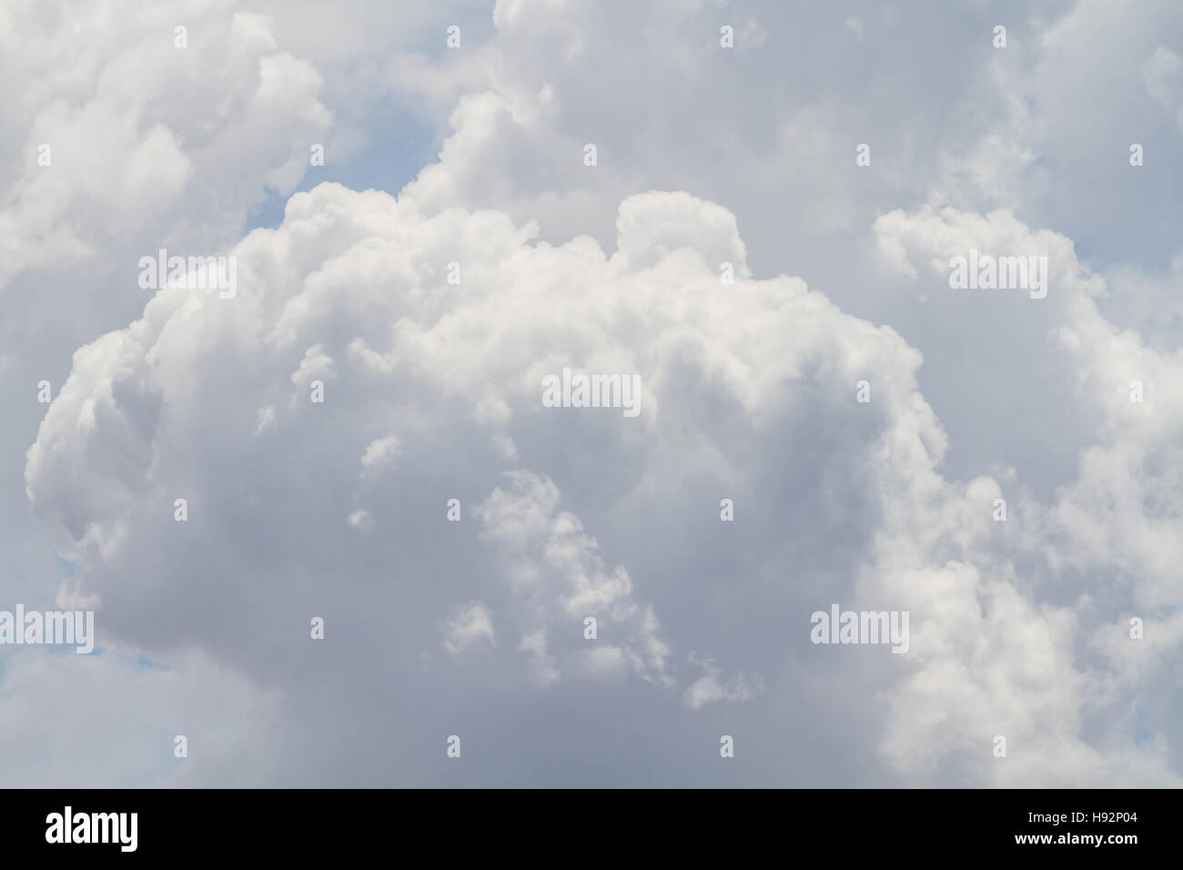 Clouds Form Phenomena - Stock Image