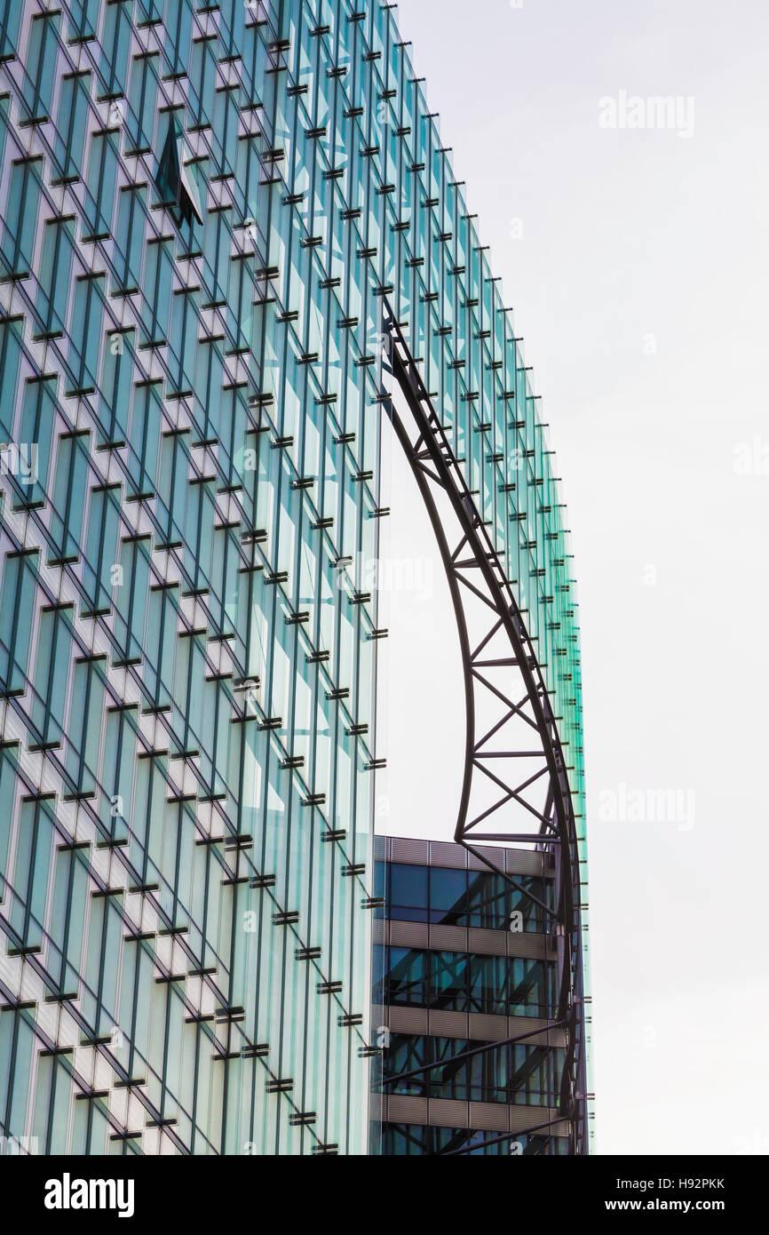 Belgien, Brüssel, Europaviertel, Quartier Européen, Europäische Kommission, Charlemagne-Gebäude, - Stock Image