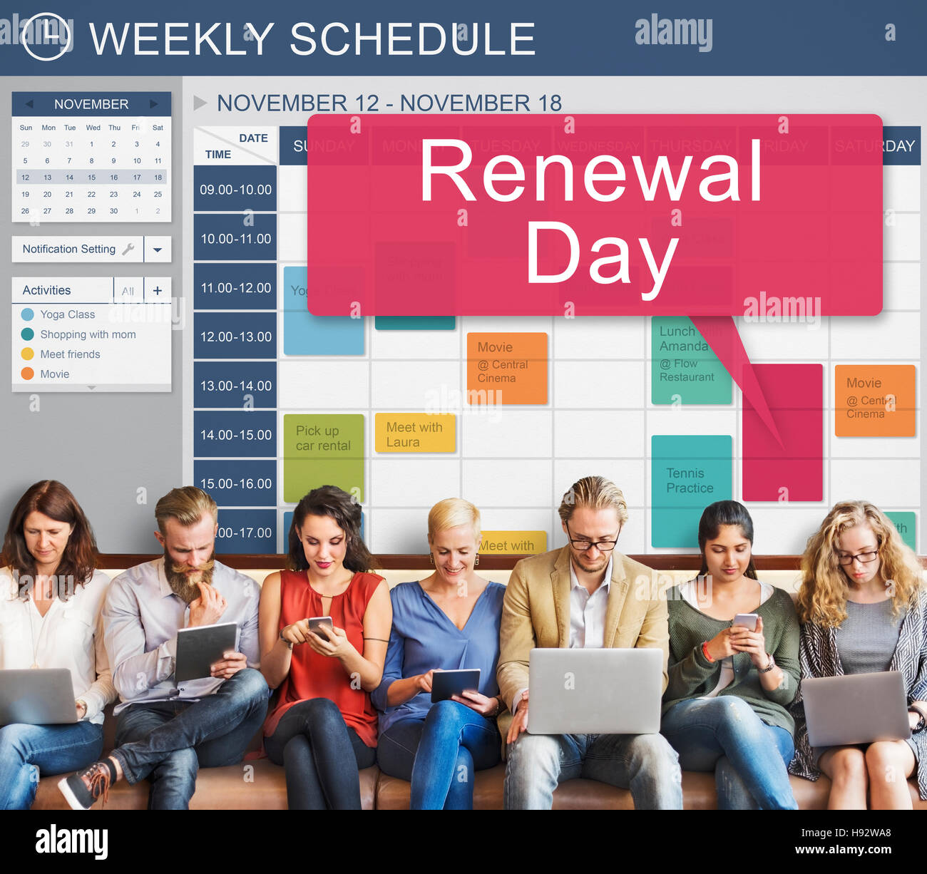Renewal Day Ecology Environmental Source Energy Concept - Stock Image