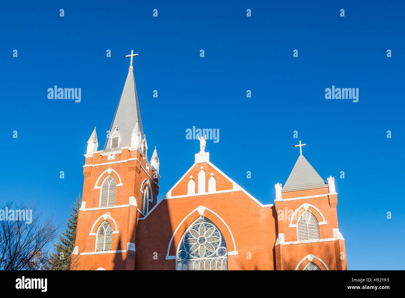 Church of the First Peoples, Edmonton, Alberta, Canada. - Stock Image