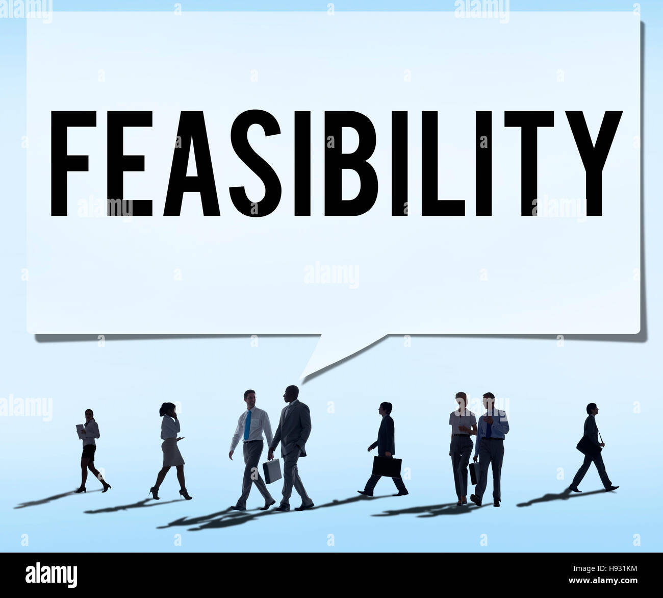 Feasibility Possibility Possible Potential Ideas Concept - Stock Image