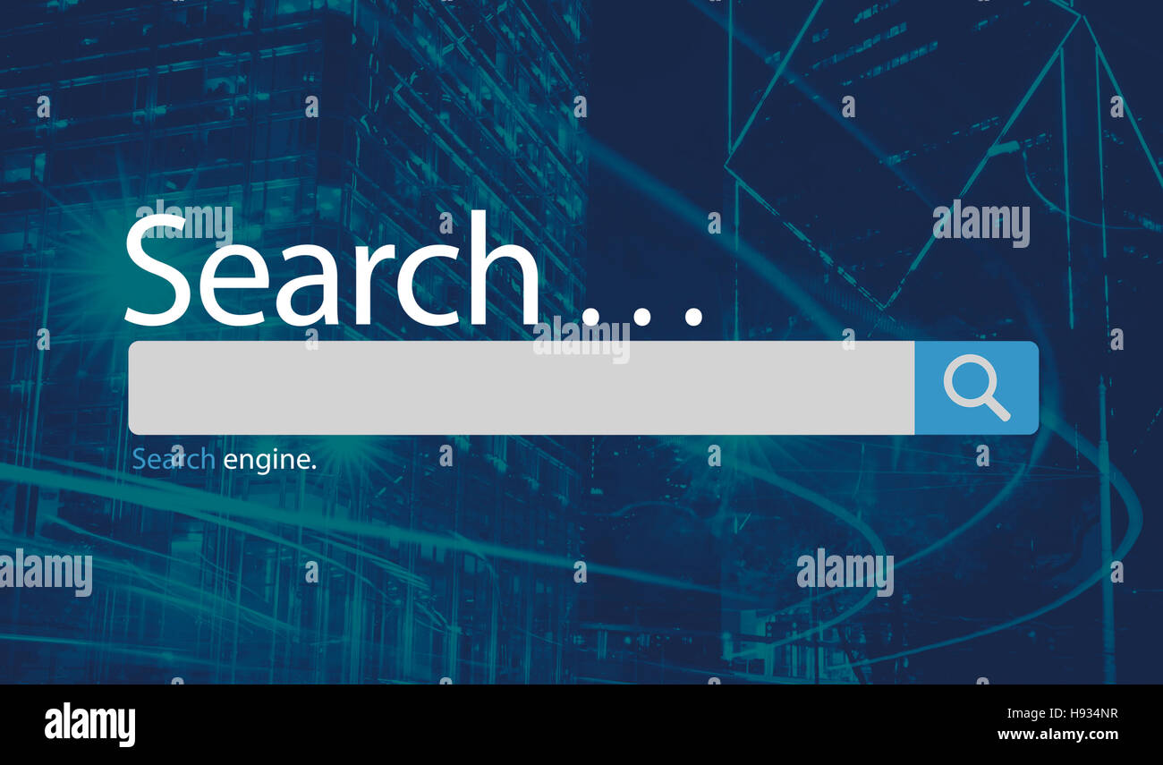 Search Seo Online Internet Browsing Web Concept - Stock Image
