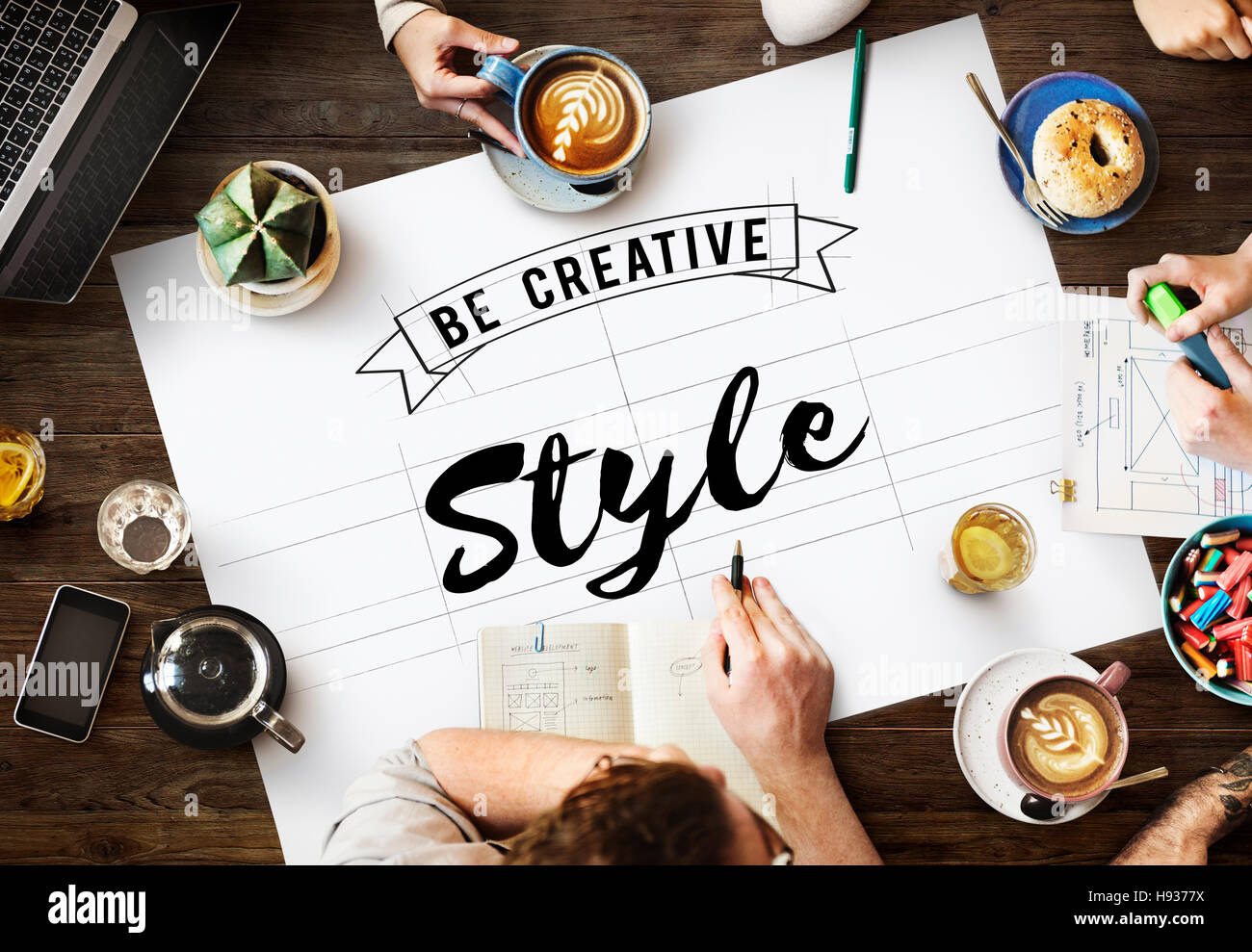 Style Design Elegant Interior Posh Trendy Vogue Concept - Stock Image