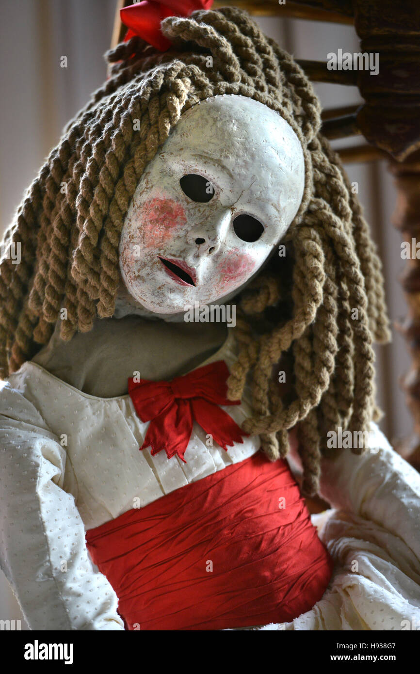 Rag doll from Glyndebourne's production of Sergei Prokofiev's Betrothal in a Monastery - Stock Image
