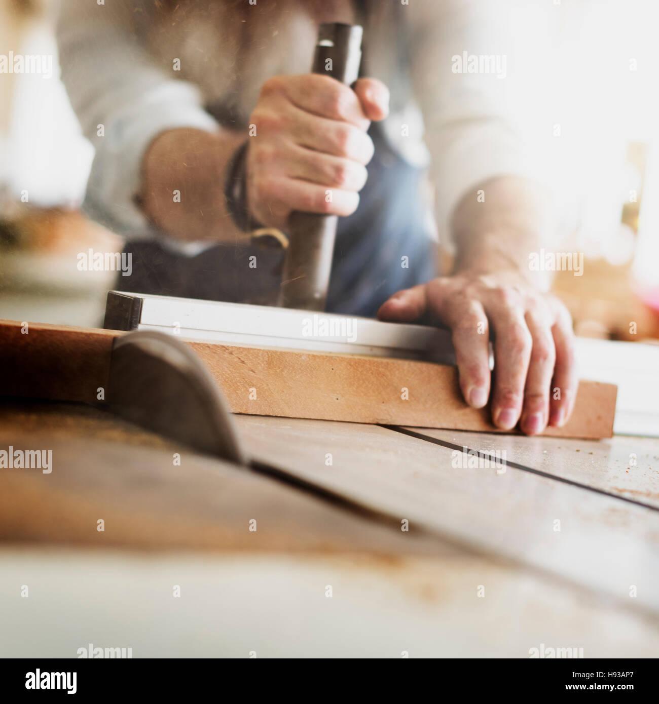 Craftsman Profession Occupation Pursuit Skilled Concept - Stock Image
