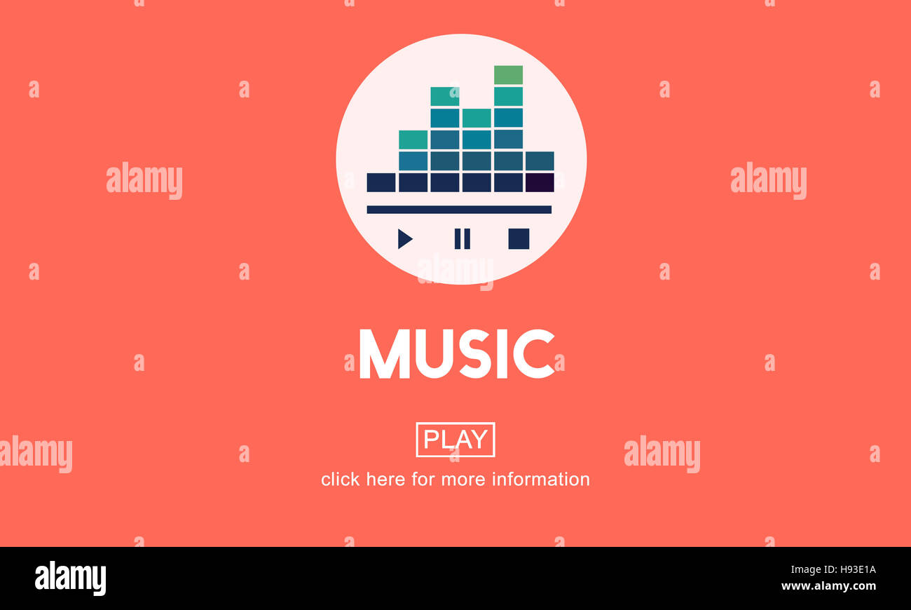 Music Culture Instrumental Rhythm Melody Audio Concept - Stock Image