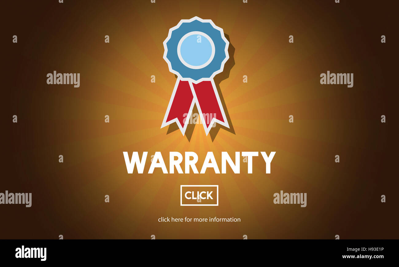 Warranty Quality Control Guarantee Satisfaction Concept - Stock Image