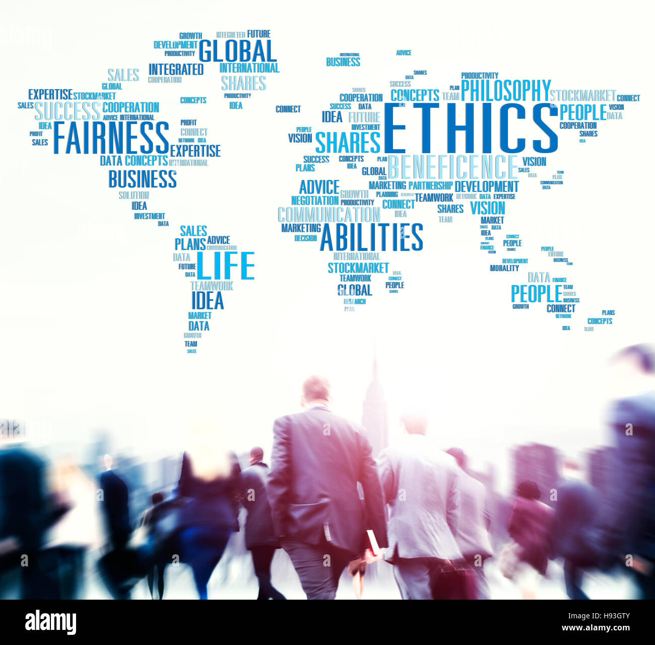 Ethics Ideals Principles Morals Standards Concept - Stock Image