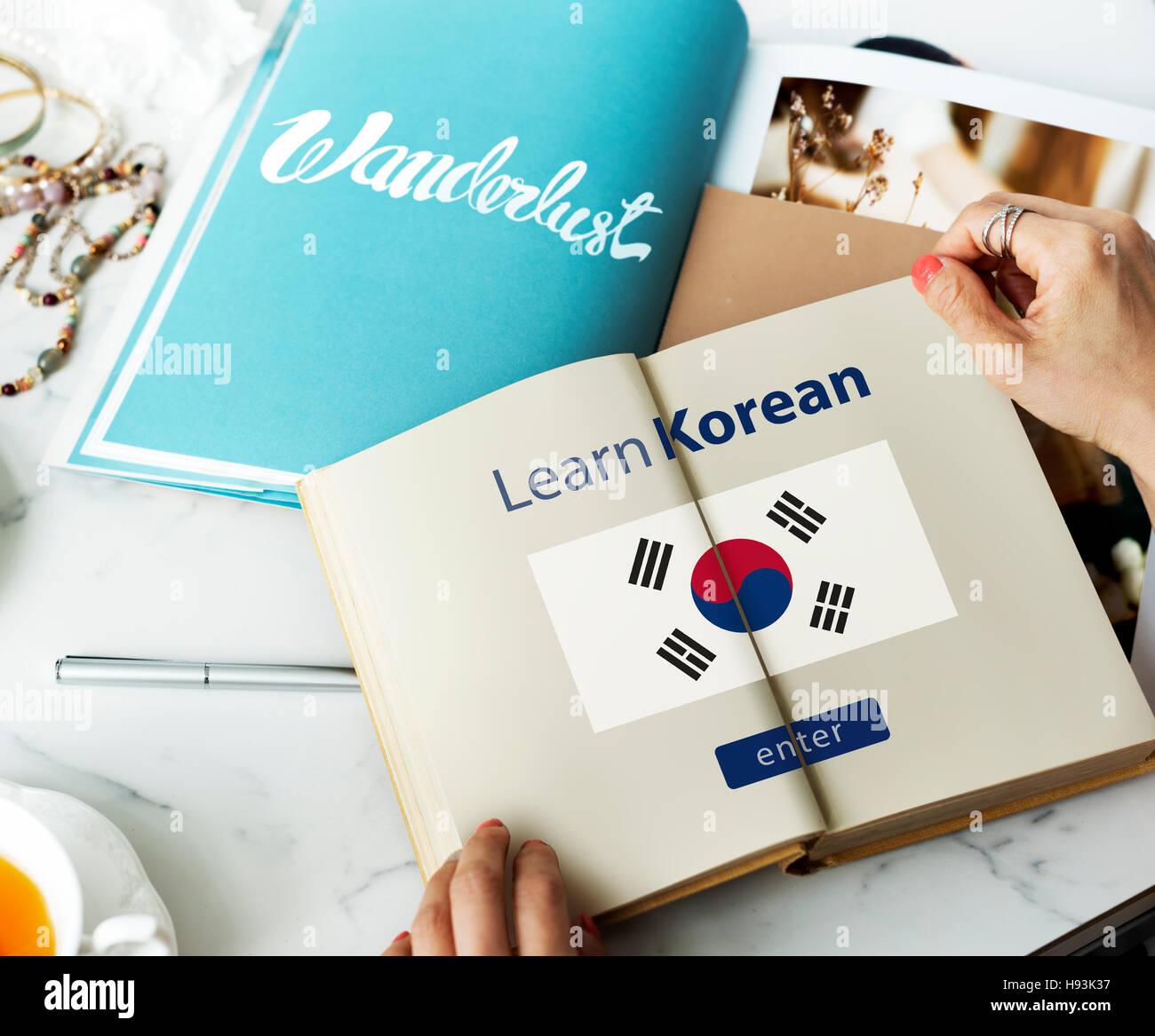 Korean Language Stock Photos Korean Language Stock Images Alamy