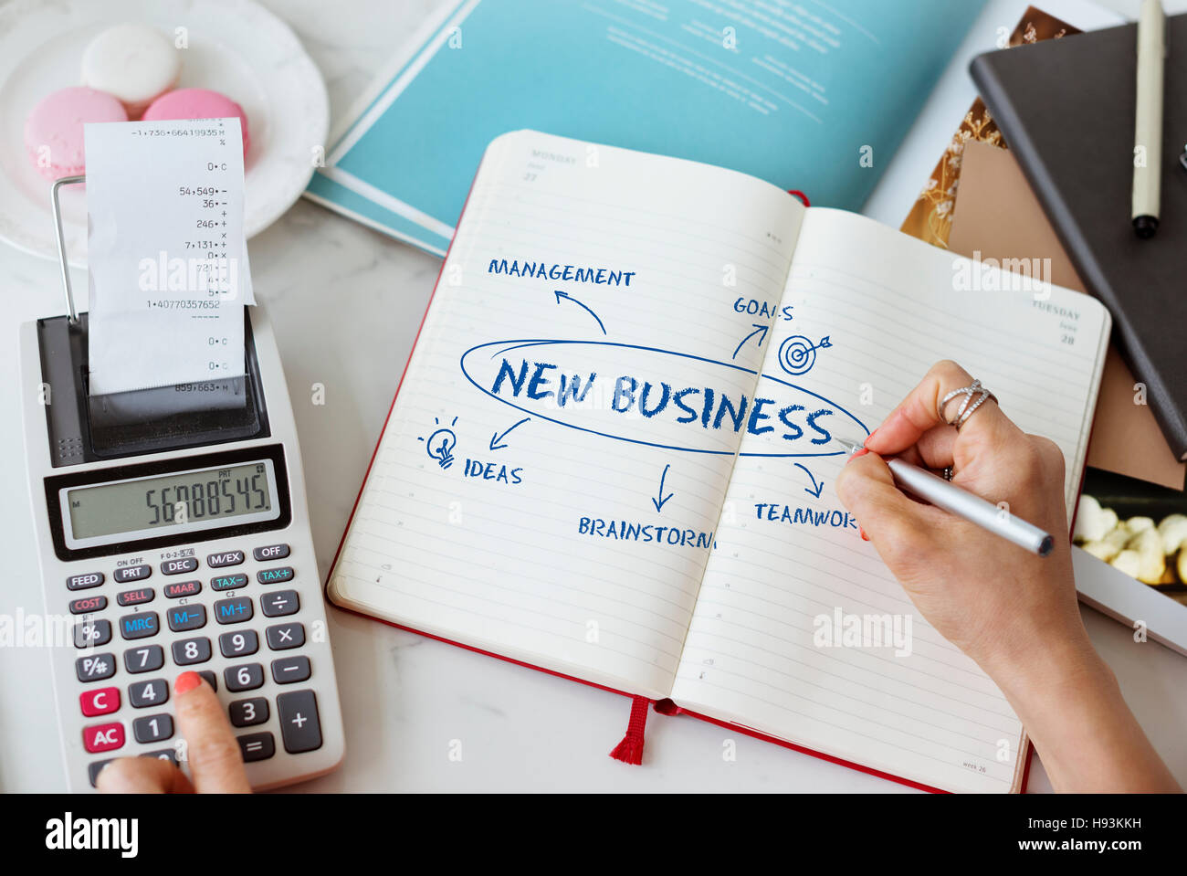 Business Growth Strategy Concept - Stock Image