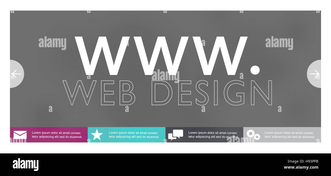 Www Web Design Web Page Website Concept - Stock Image