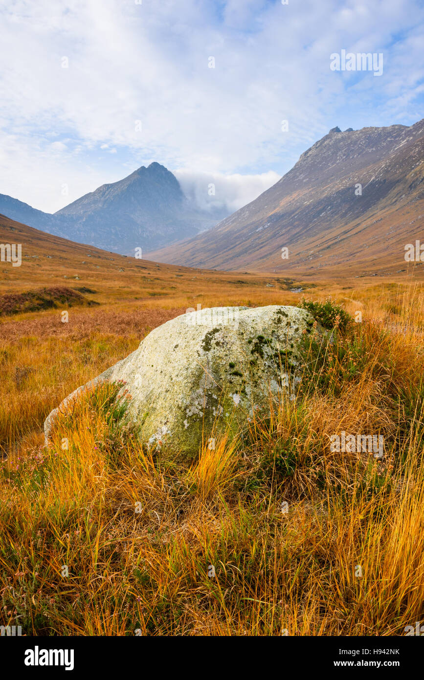 Glen Sannox, Isle of Arran, North Ayrshire, Scotland - Stock Image