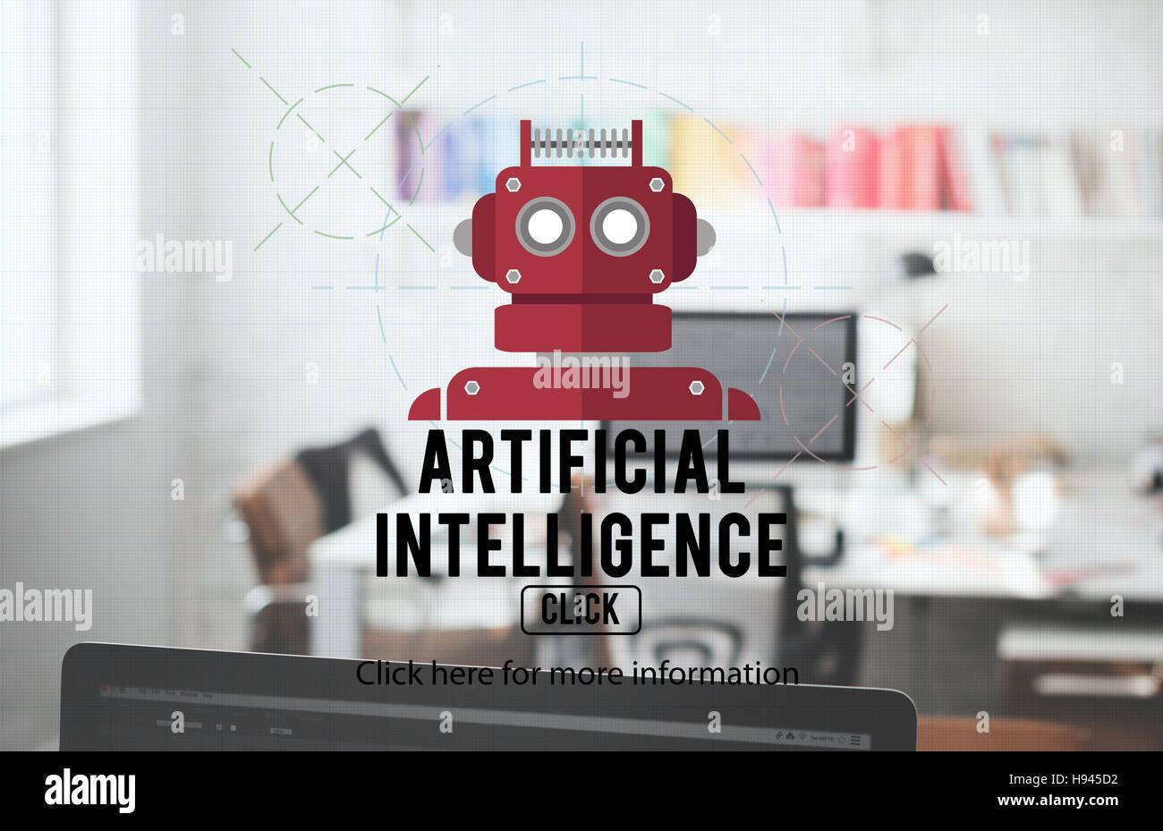 Robot Cyborg Ai Robotics Android Concept Stock Photo 126096574 Alamy