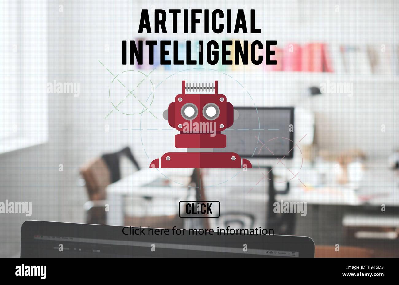 Robot Cyborg Ai Robotics Android Concept Stock Photo 126096575 Alamy