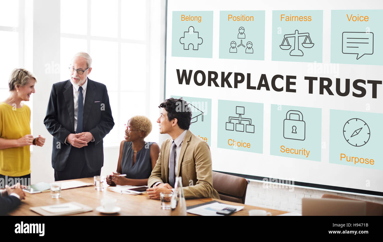 Ethics Integrity Morals  Policies Principles Concepet - Stock Image