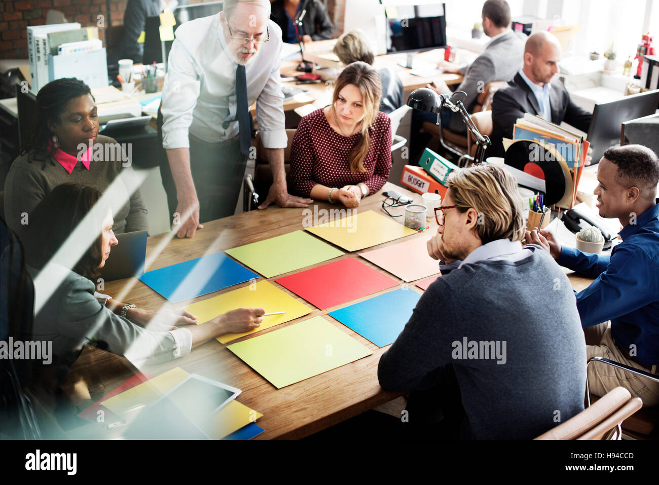 Business Team Meeting Project Planning Concept Stock Photo