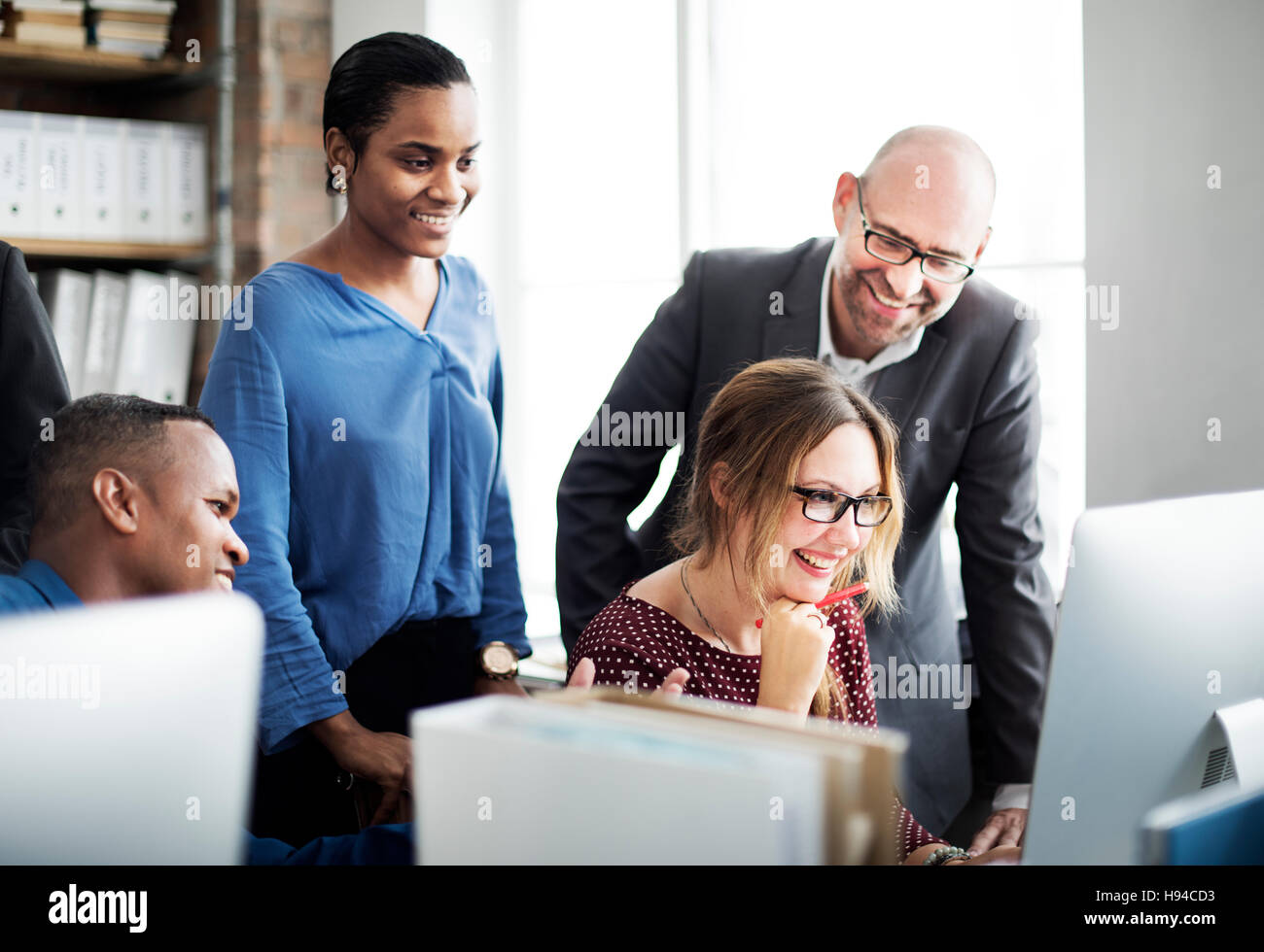 Business Team Meeting Discussion Working Concept - Stock Image