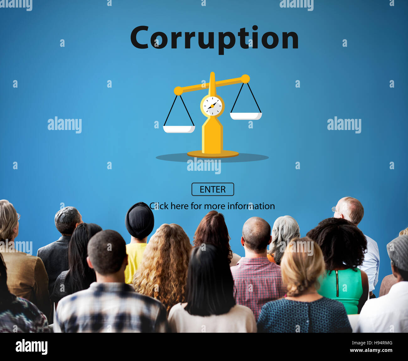 Corruption Bribe Cheat Illegal Money Finance Concept - Stock Image