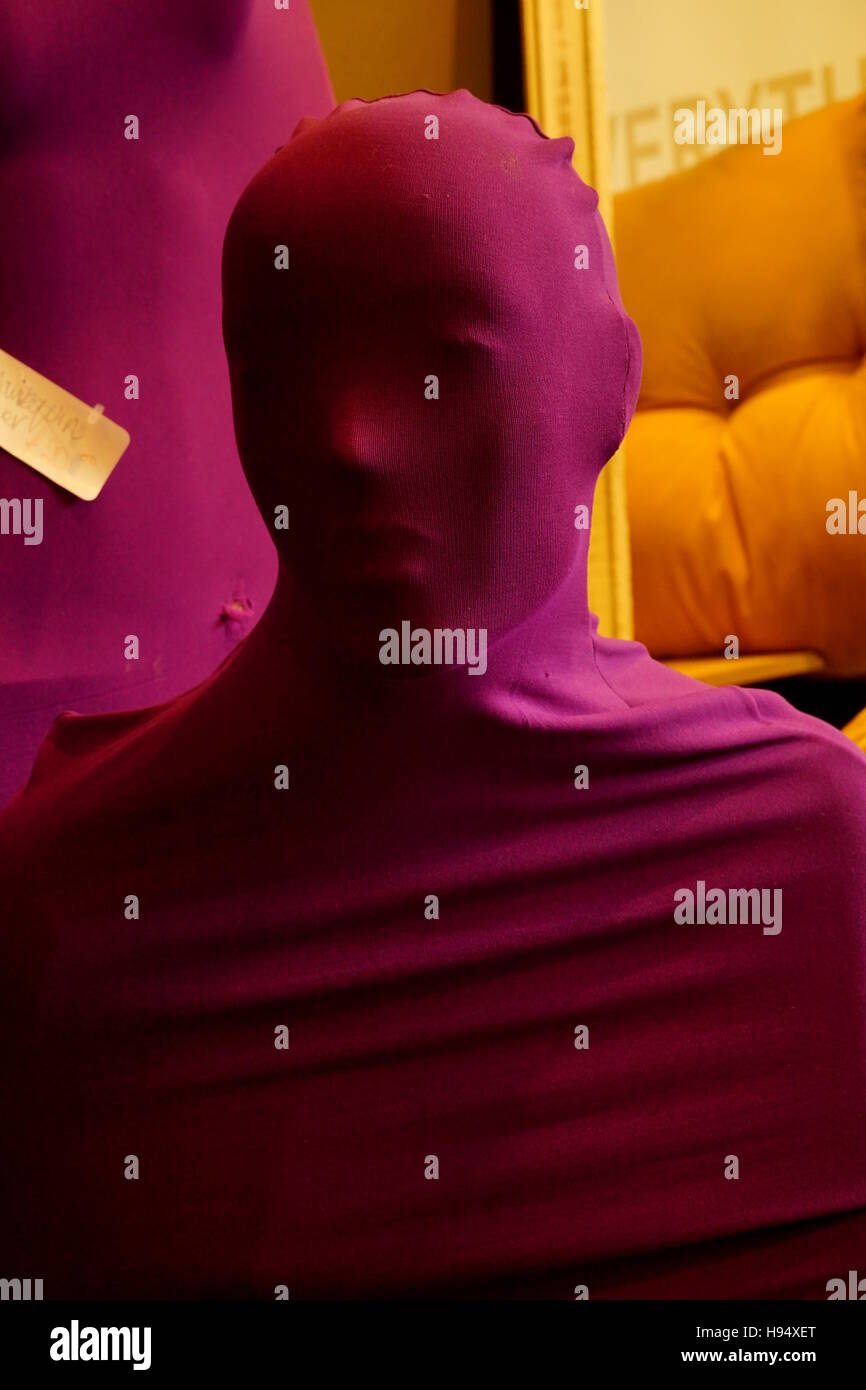 Creepy Shop Dummy - Stock Image