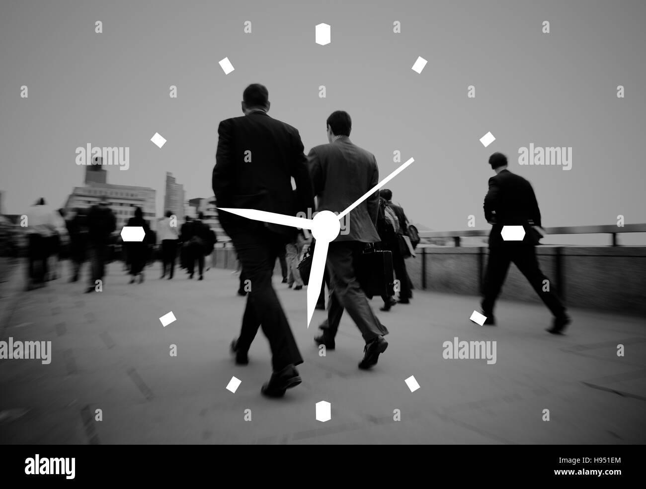 Time Management Clock Alarm Measure Concept - Stock Image