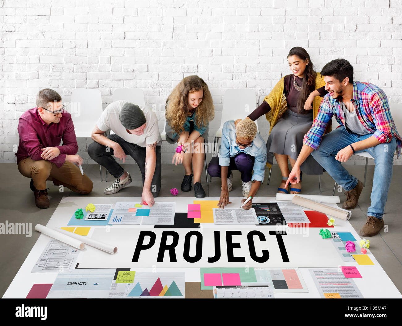 Project Planning Estimate Forecast Predict Task Concept - Stock Image