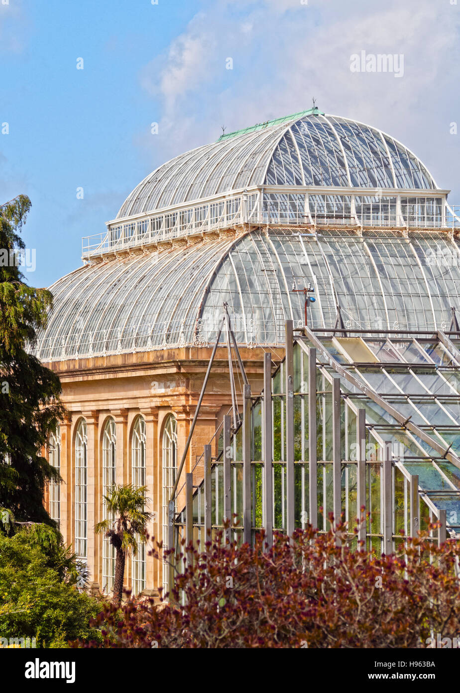 UK, Scotland, Lothian, Edinburgh, View of the Royal Botanic Gardens. - Stock Image
